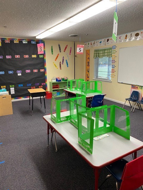 Classroom with Dividers